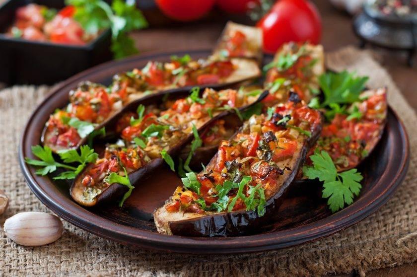 10 лучших пошаговых рецептов баклажанов с помидорами на зиму