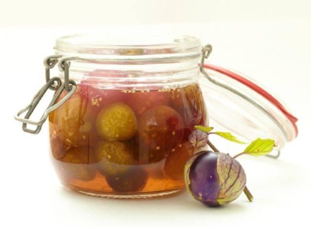 Варенье из земляничного и овощного физалиса на зиму — рецепты
