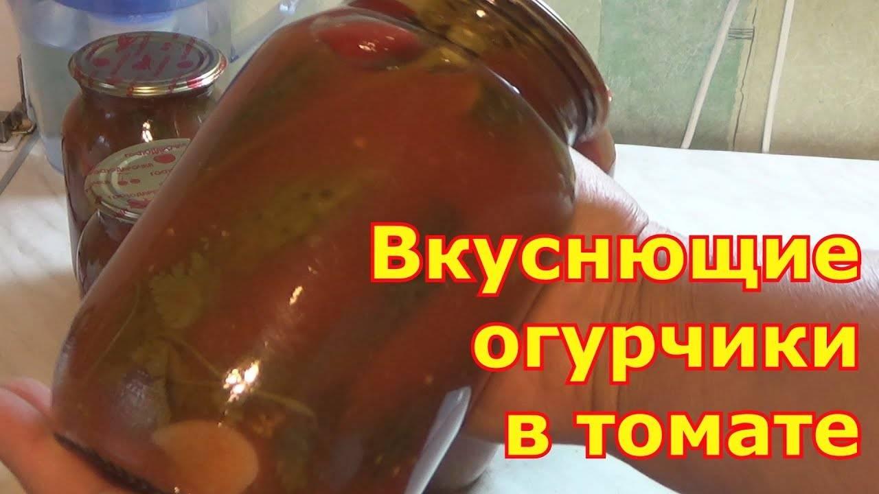 Огурцы в томатной заливке: обалденные рецепты на зиму