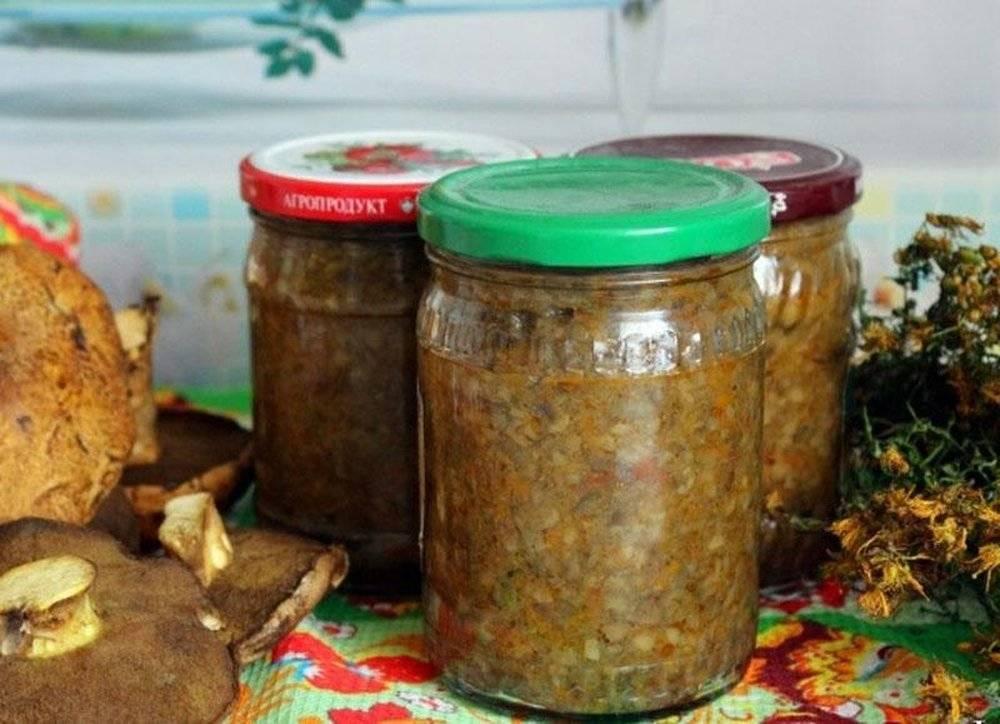Грибная икра на зиму — 5 рецептов приготовления через мясорубку