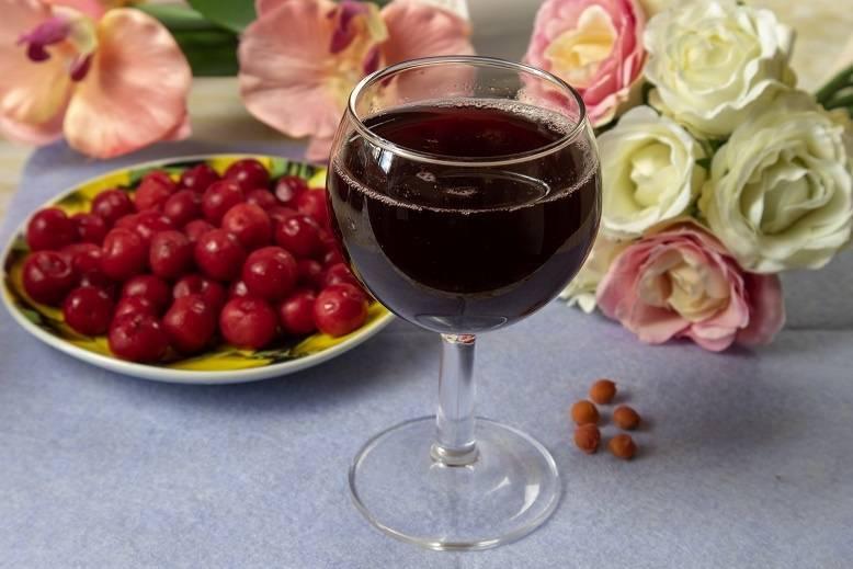 ТОП 9 простых рецептов приготовления в домашних условиях вина из черешни