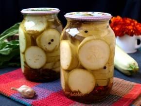 Рецепты консервирования кабачков в горчичной заливке на зиму