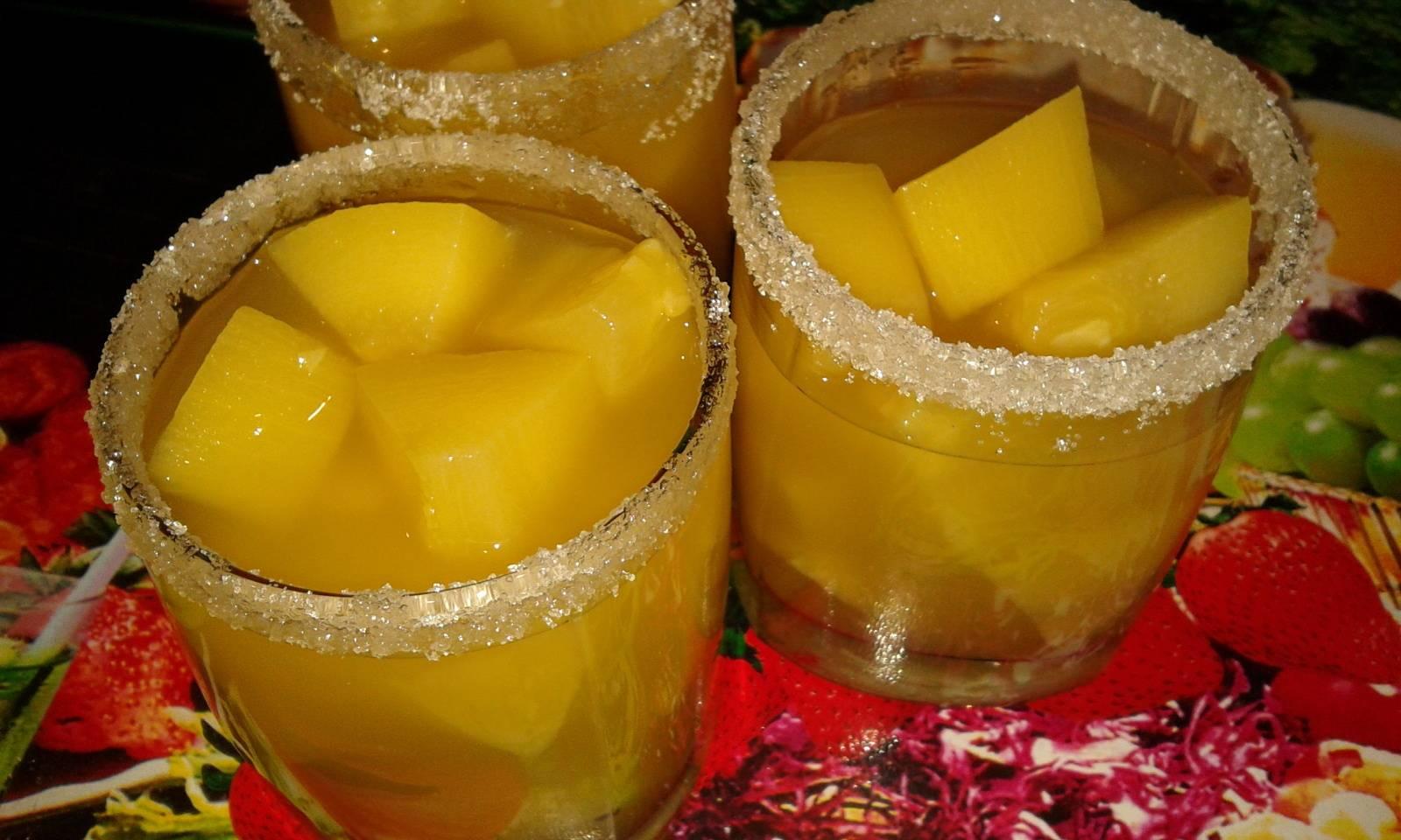 Пошаговый рецепт компота из кабачков на зиму по вкусу как ананас