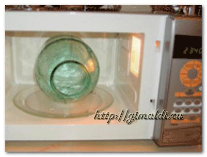 Правила стерилизации банок над паром чайника при консервировании