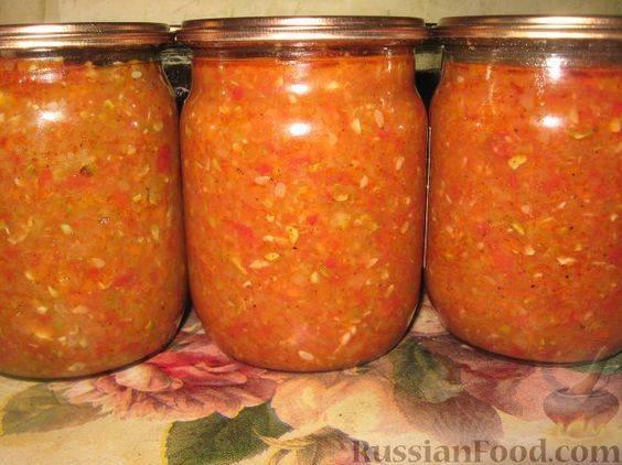 Сырая аджика из болгарского перца без помидоров