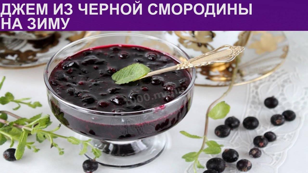 Джем из черной смородины как желе: простые рецепты на зиму