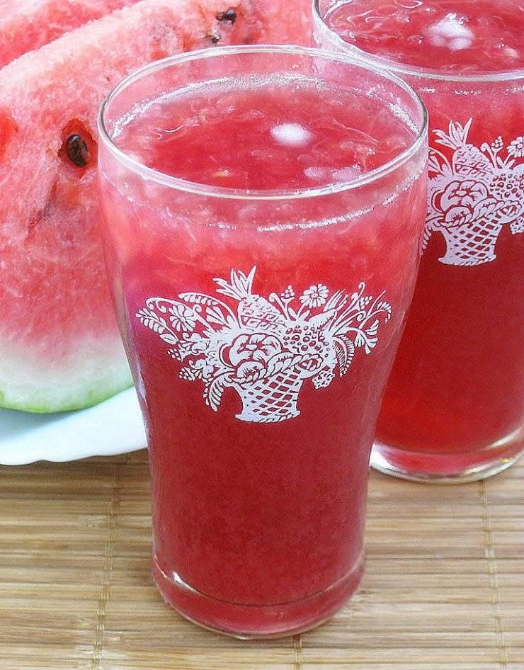Арбузный сок польза. рецепты приготовления арбузного сока на зиму в домашних условиях, как сделать. рецепт приготовления сока из арбуза