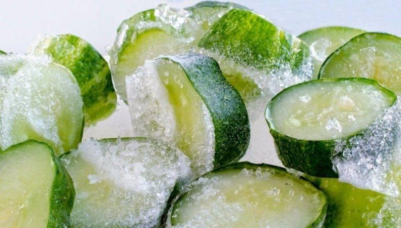 Как заморозить огурцы на зиму: 5 способов с рецептами