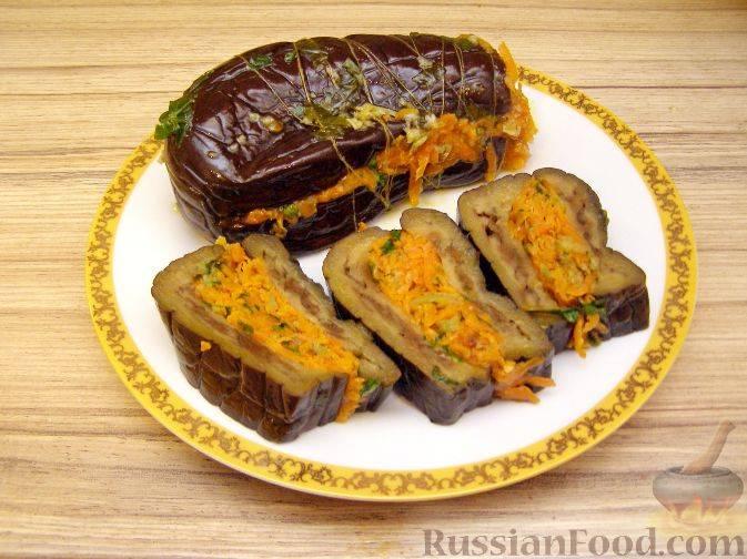 Как приготовить квашеные баклажаны с капустой, сельдереем и морковью