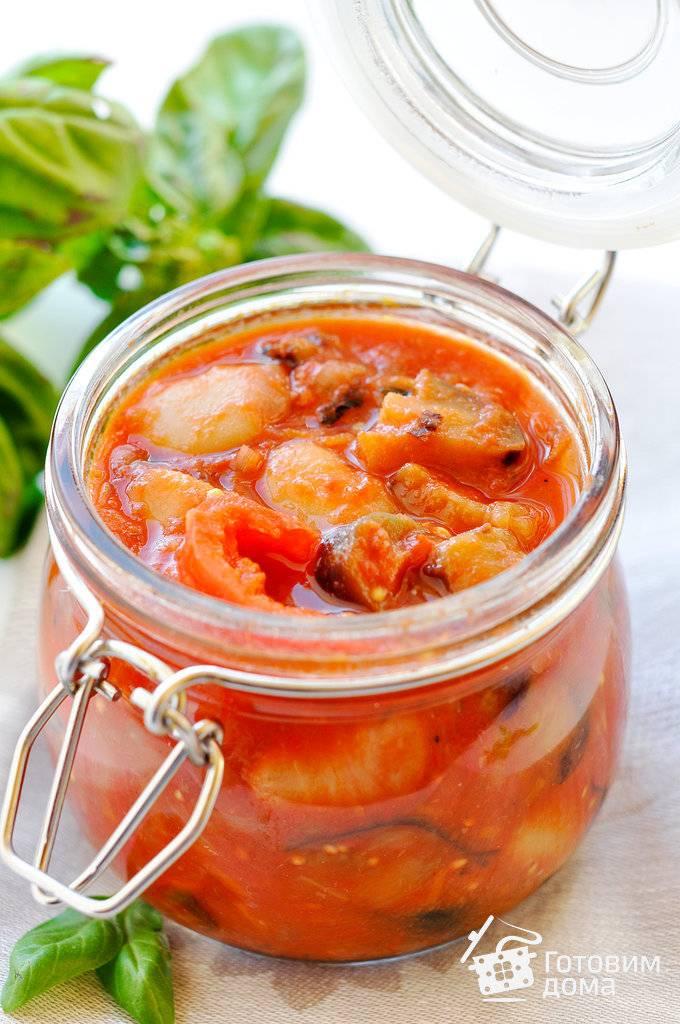 7 лучших рецептов приготовления баклажанов с фасолью на зиму