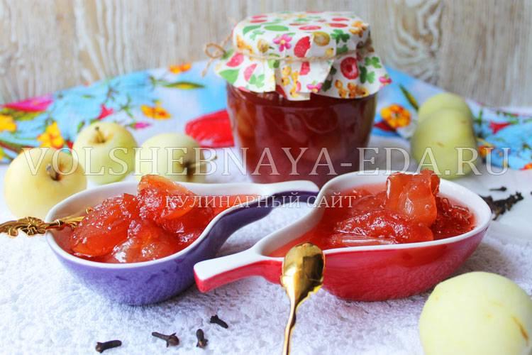 Рецепты приготовления повидла из яблок в мультиварке