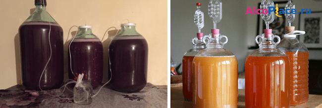 Как возобновить брожение домашнего вина