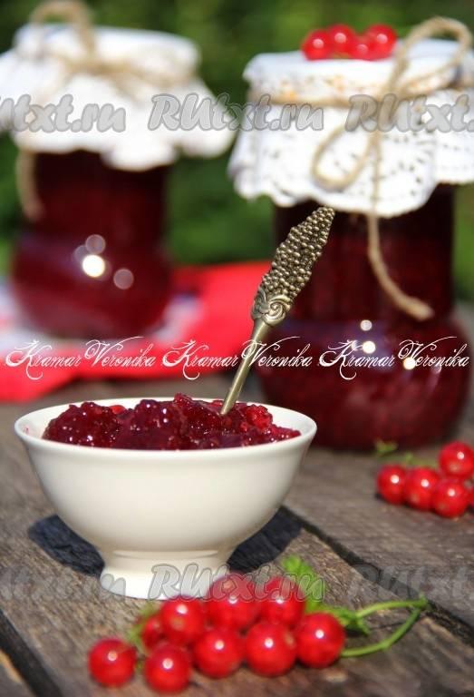 16 вкусных рецептов приготовления варенья из красной смородины на зиму