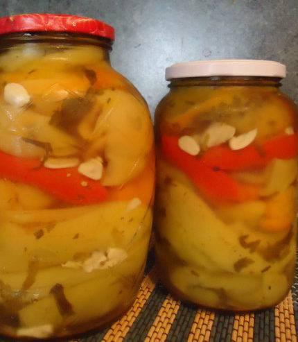 Квашеный болгарский перец без уксуса и стерилизации