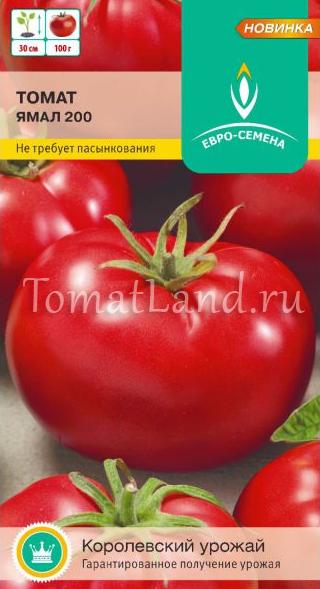 Томат ямал — всегда высокий урожай, даже в суровых условиях