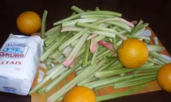 Заготовки из ревеня на зиму: рецепты приготовления в домашних условиях