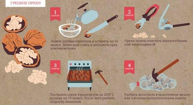 Как сушить и хранить грецкие орехи в домашних условиях: очищенные и в скорлупе