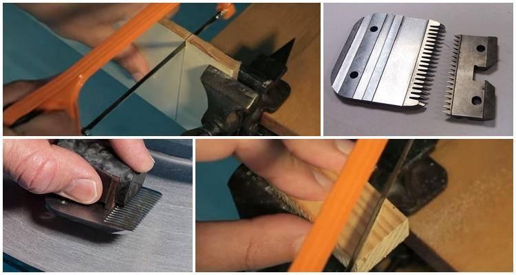 4 способа, как эффективно заточить ножи машинки для стрижки волос