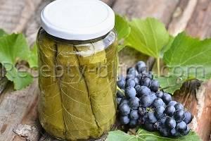 Как сделать заготовку виноградных листьев на зиму для долмы по рецепту с фото
