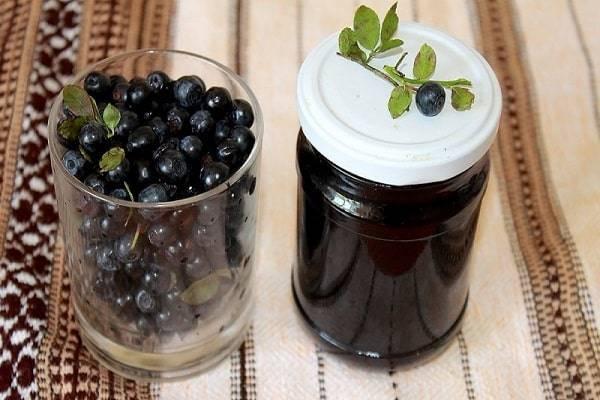 Черника — заготовка на зиму рецепты, лучшие рецепты фото
