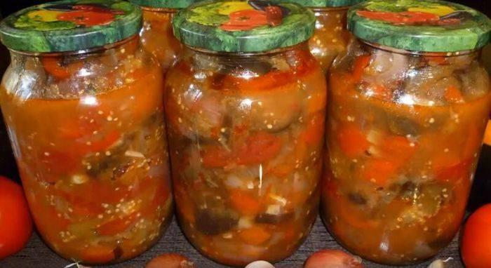 Манжо из баклажанов на зиму: лучшие рецепты