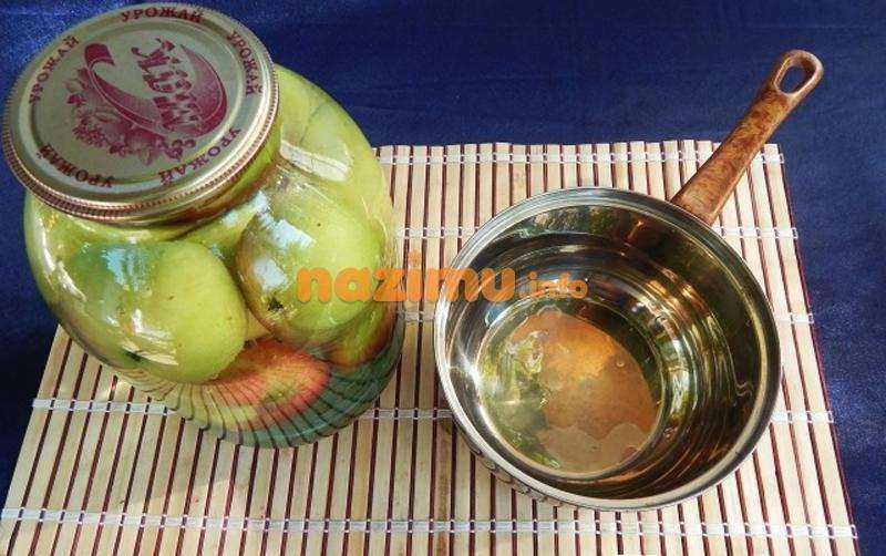 Компот из яблок китайка на зиму
