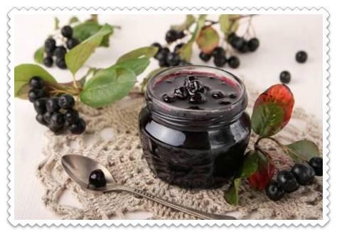 Вкусный и полезный компот из черноплодной рябины