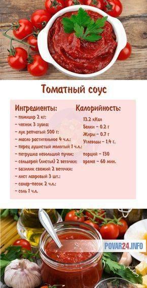 Два рецепта томатного соуса для пиццы из томатной пасты