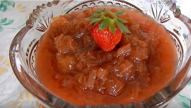 Варенье из ревеня рецепты приготовления на зиму пошаговая инструкция