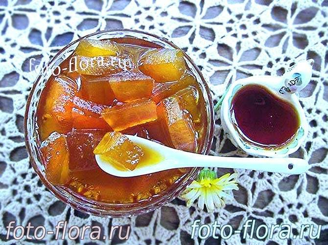 Варенье из арбузных корок – как приготовить по пошаговым рецептам на зиму с лимоном или апельсином