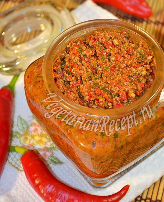 Кавказская аджика рецепт с фото