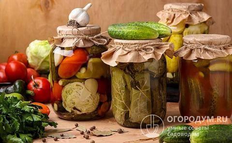 Пошаговые рецепты приготовления овощей в томатном соке на зиму