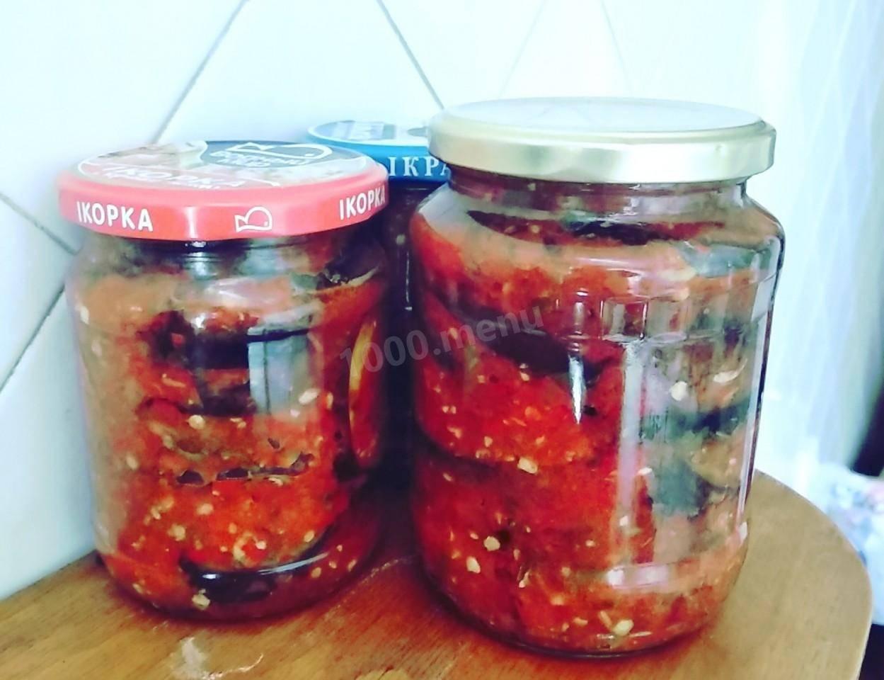 11 лучших пошаговых рецептов приготовления баклажанов «огонек» на зиму