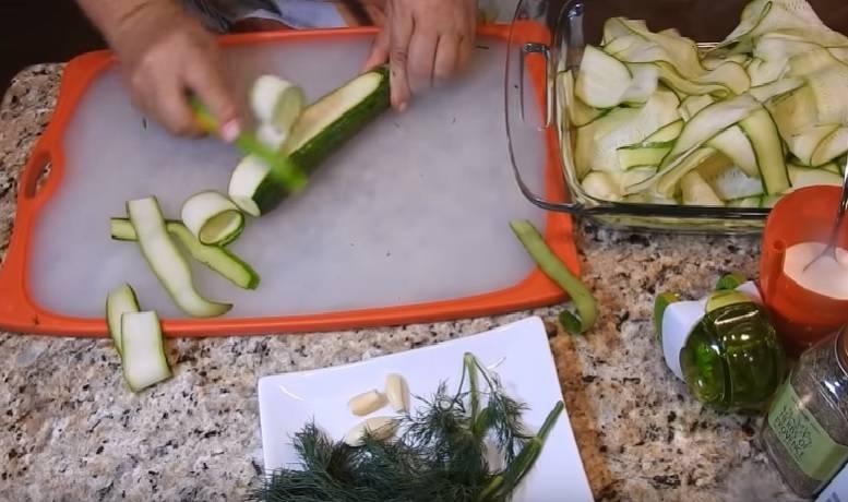 Рецепты быстрого приготовления хрустящих малосольных кабачков за 5 минут