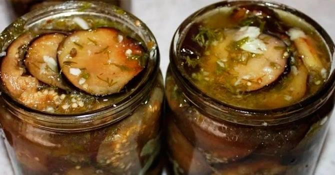 Маринованные баклажаны быстрого приготовления — 7 рецептов, от которых пальчики оближешь!