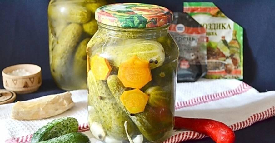 Пошаговый рецепт приготовления огурцов трехкратной заливки на зиму
