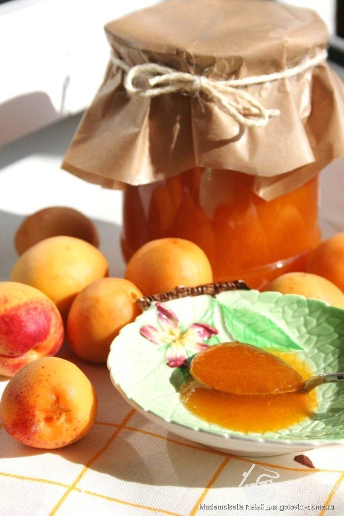 Джем с лимоном и абрикосами на зиму