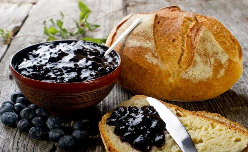 Желе из черники на зиму: рецепты как сварить с фото и видео