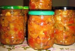 Салаты из кабачков на зиму - 5 рецептов с фото пошагово