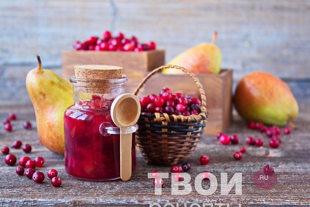 Варенье из брусники с яблоками на зиму: простой способ приготовления