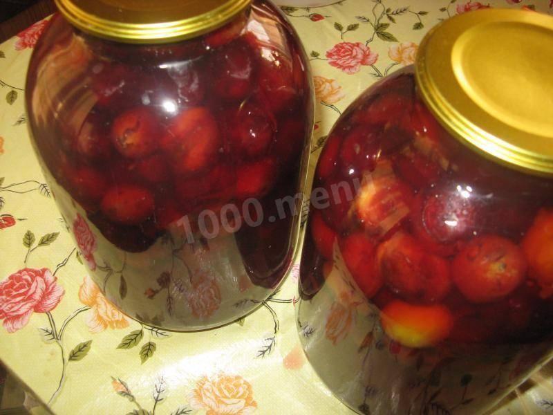 Персиковое варенье дольками