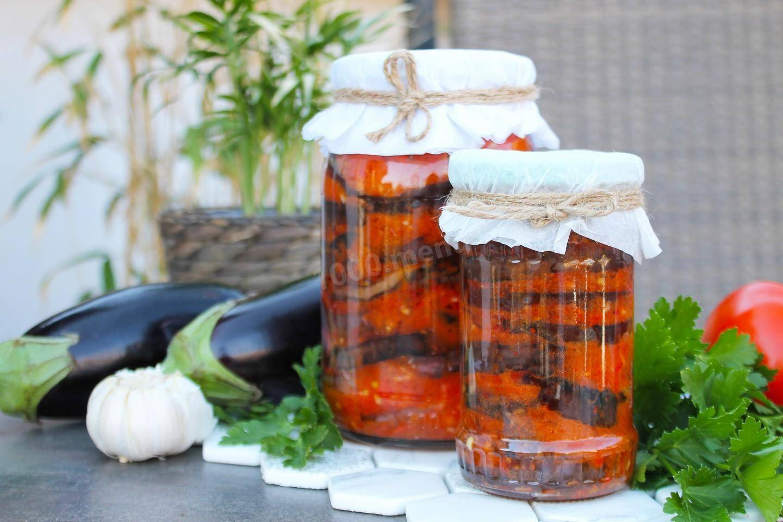 Салат «огонёк» из баклажанов: вкуснейшая закуска на зиму