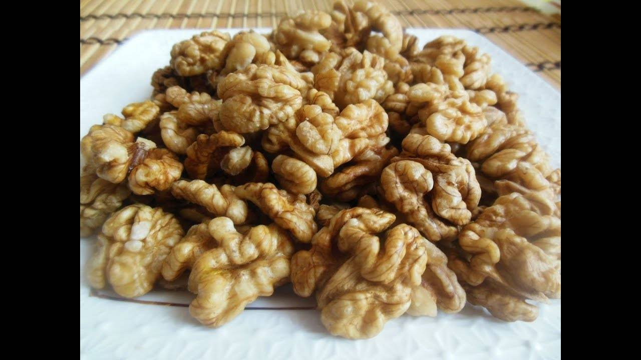 Как хранить очищенные грецкие орехи – запасаемся на весь год!