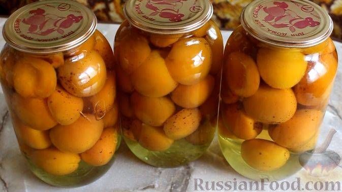 Вкусные маринованные абрикосы на зиму рецепты