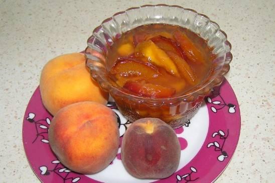 Варенье из персиков с лимонной кислотой