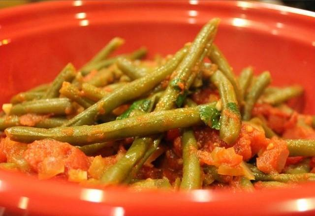 Салат из стручковой фасоли на зиму