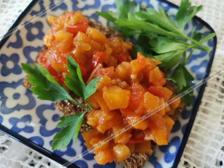 Вкусный салат из баклажанов на зиму. 5 проверенных пошаговых рецептов