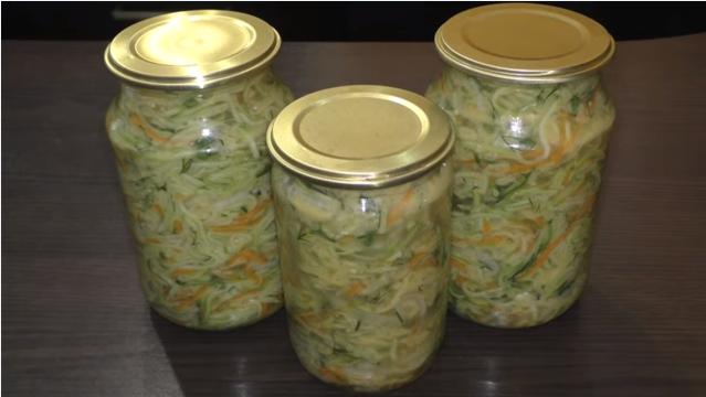 Кабачки на зиму: способы хранения и рецепты заготовок