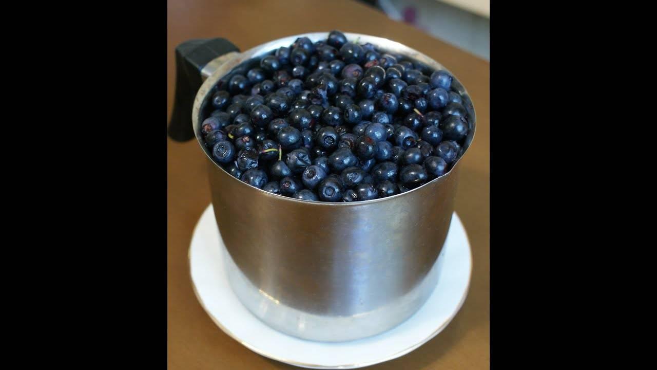 Варенье из черники: самый полезный для зрения десерт