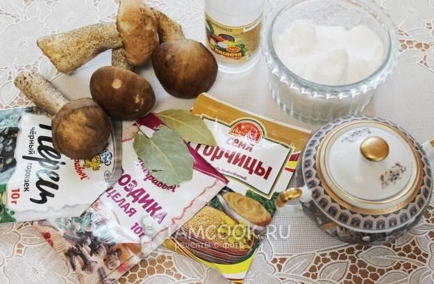 Супер-маринад для грибов на зиму. универсальный
